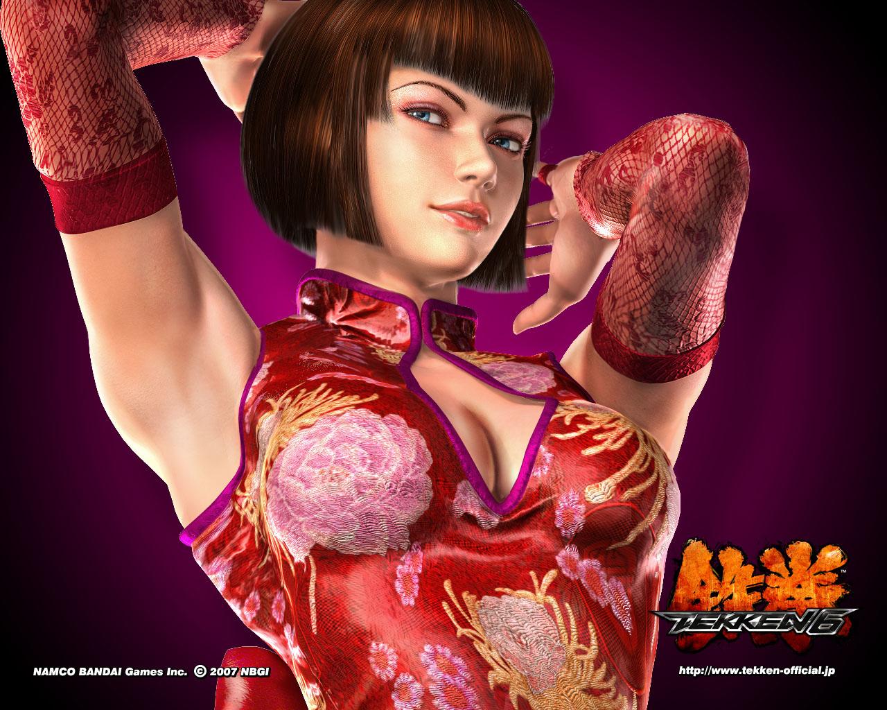 HD Wallpapers Anna Williams Tekken 6