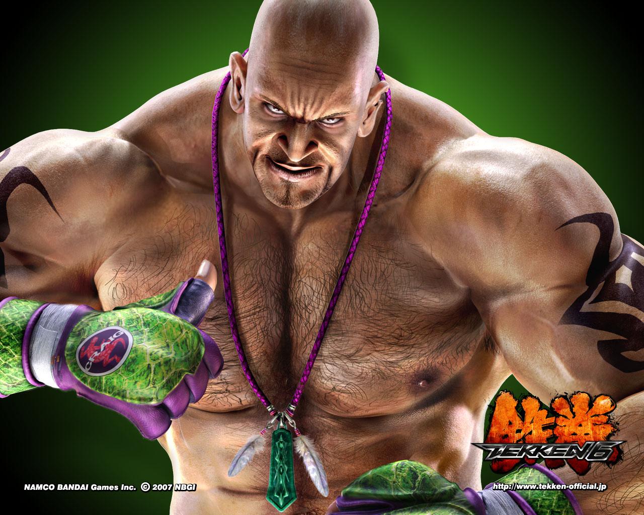 HD Wallpapers Craig Marduk Tekken 6