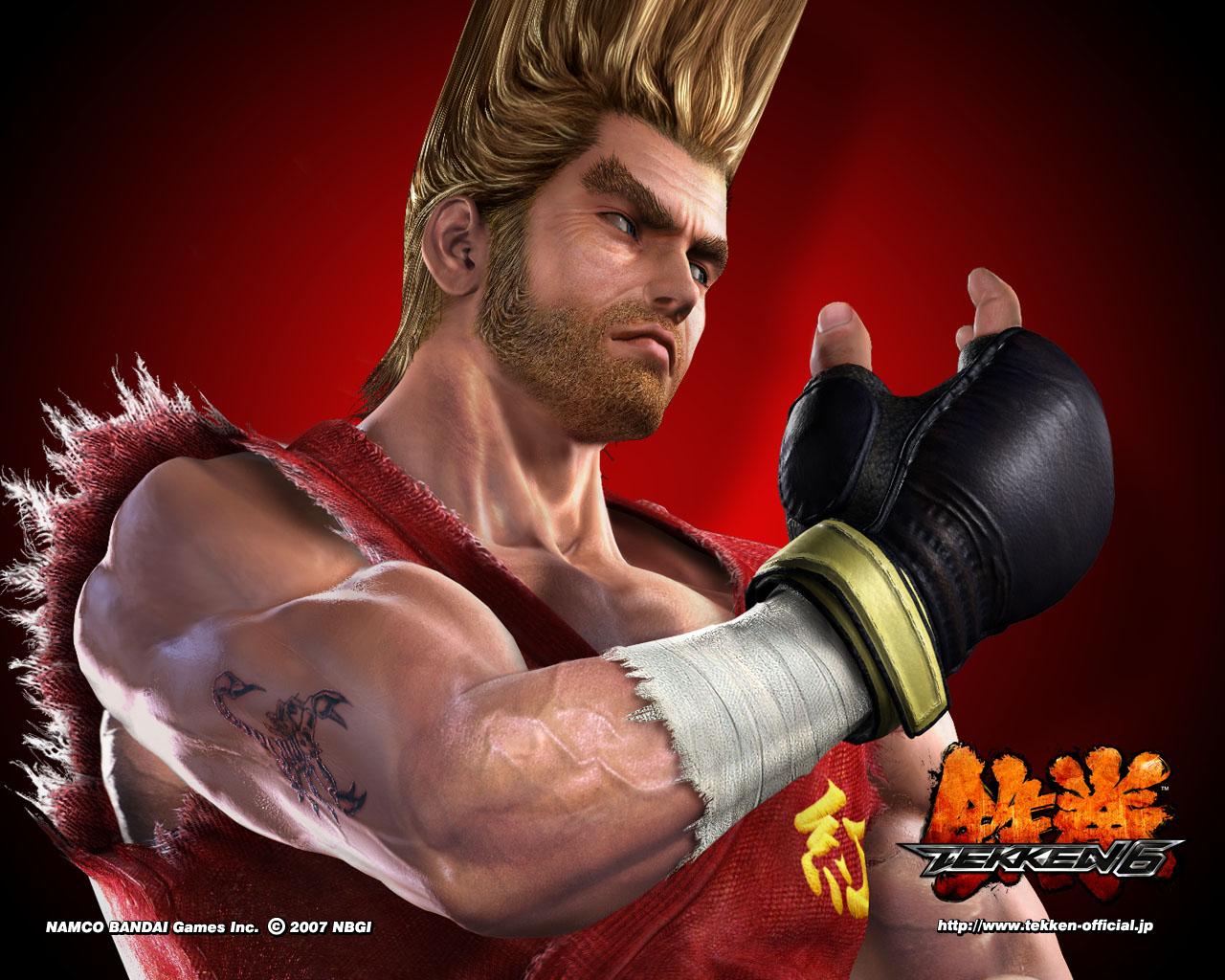 HD Wallpapers Paul Phoenix Tekken 6