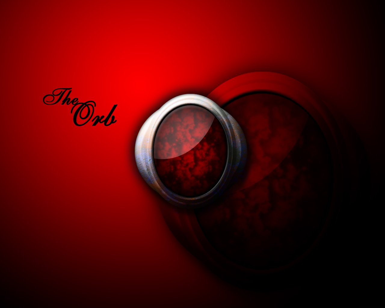 HD Wallpapers The Red Orb