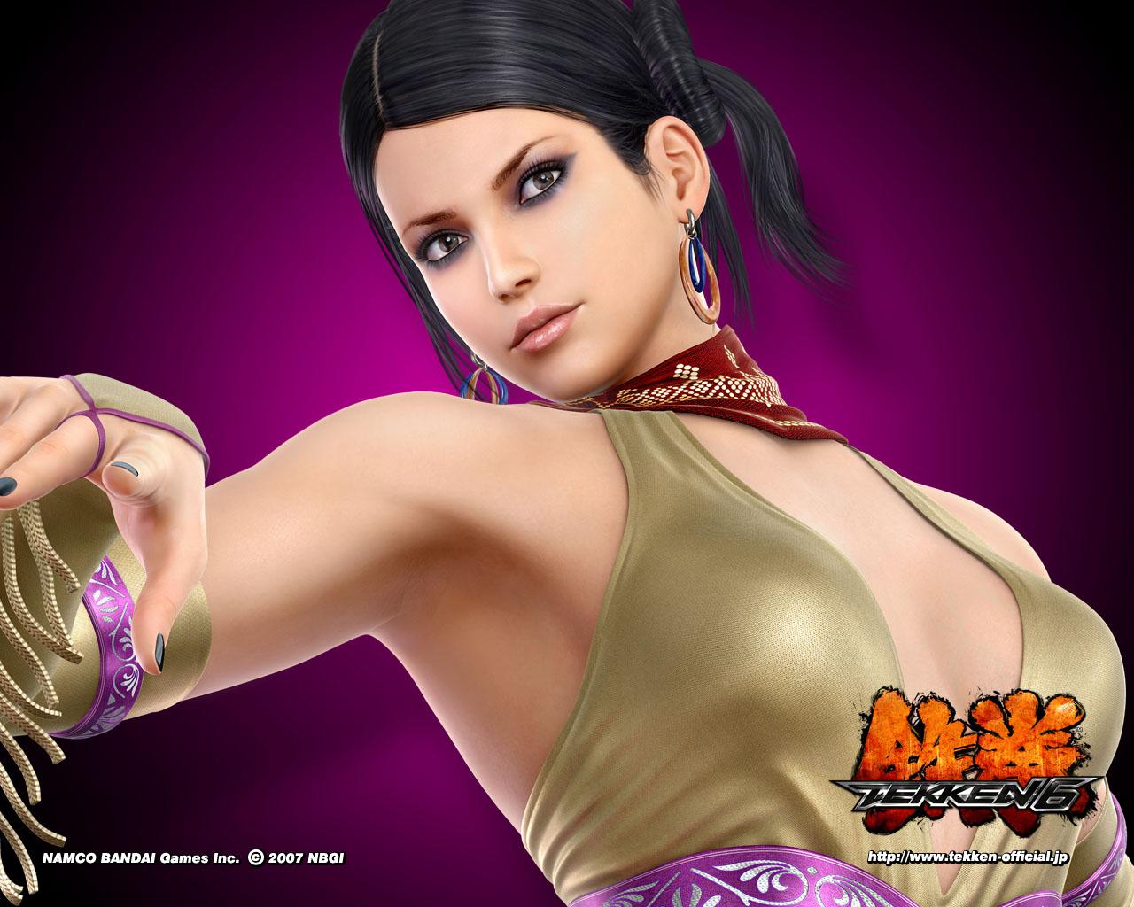 HD Wallpapers Zafina Tekken 6