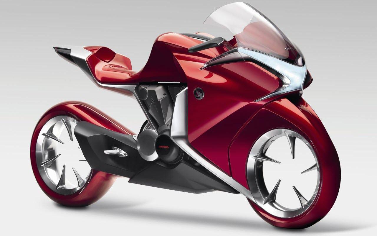 HD Wallpapers Honda V4 Concept