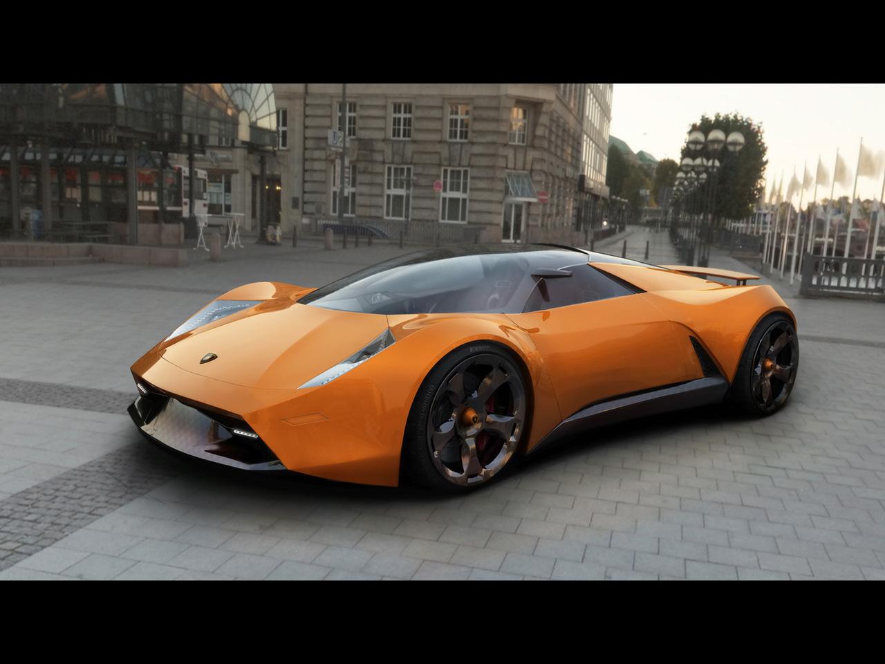 HD Wallpapers 2009 Lamborghini Insecta Concept Design