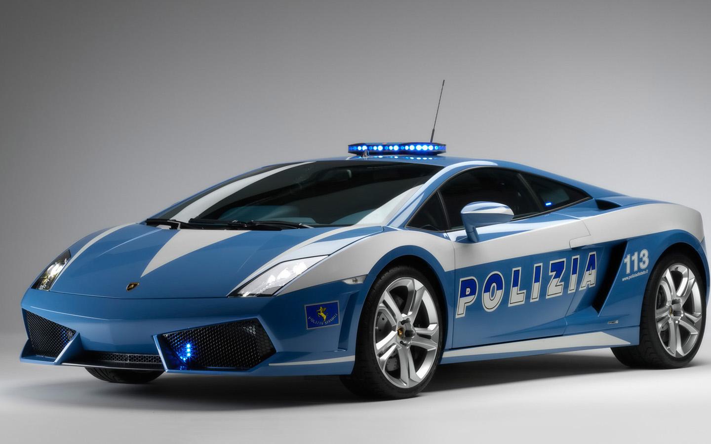HD Wallpapers 2009 Lamborghini Gallardo LP560 Police Car