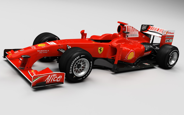 HD Wallpapers Ferrari F1 Race Car