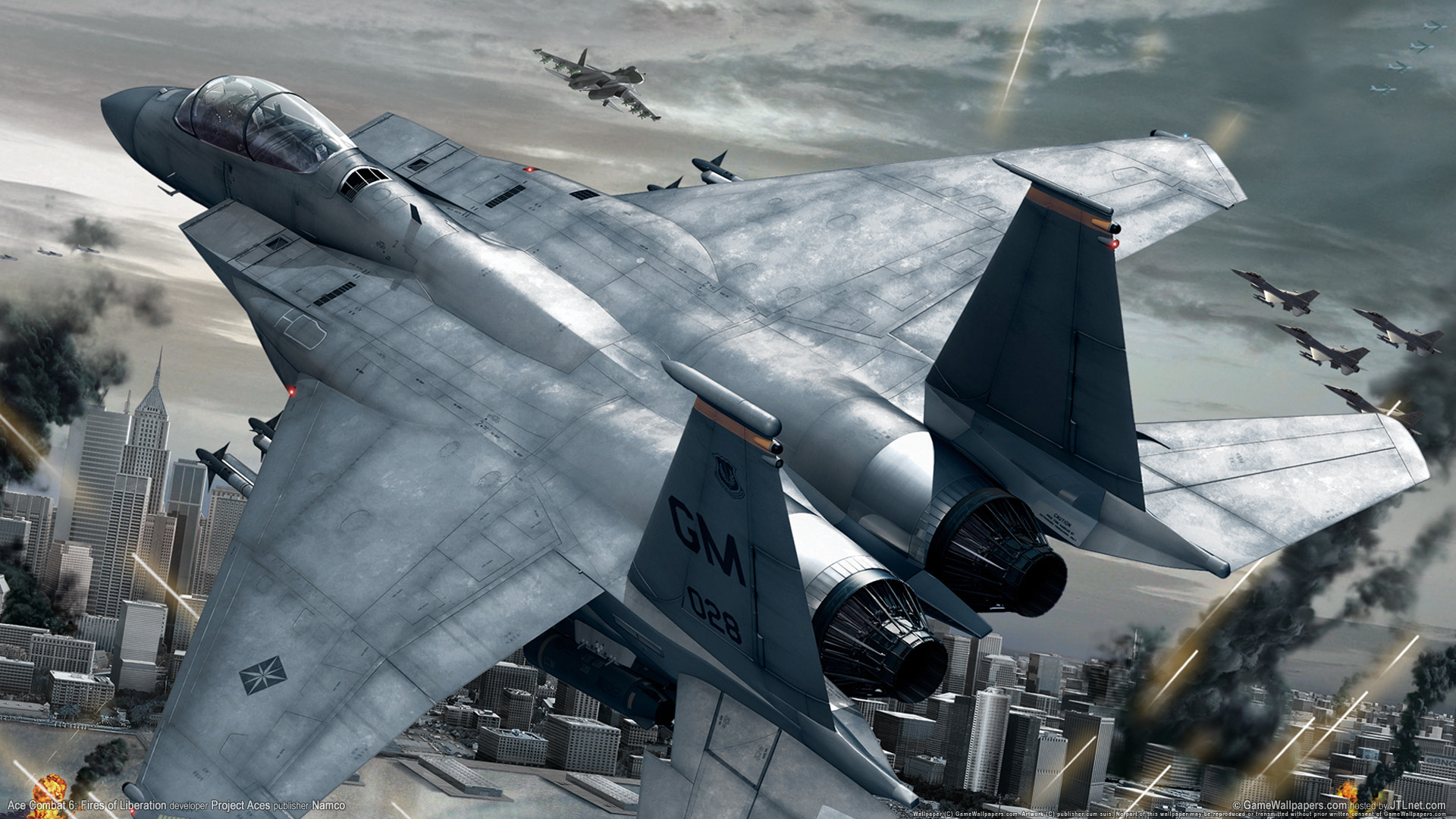 HD Wallpapers Ace Combat Fires Of Liberation