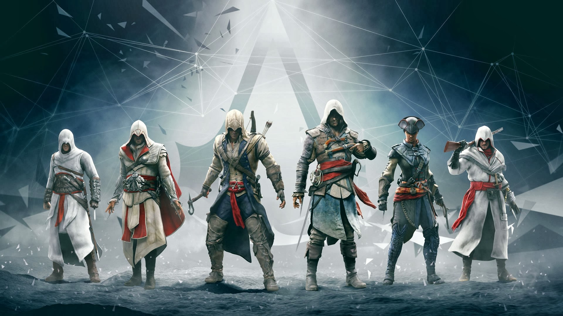 HD Wallpapers Assassins Creed Altair Ezio Connor Edward
