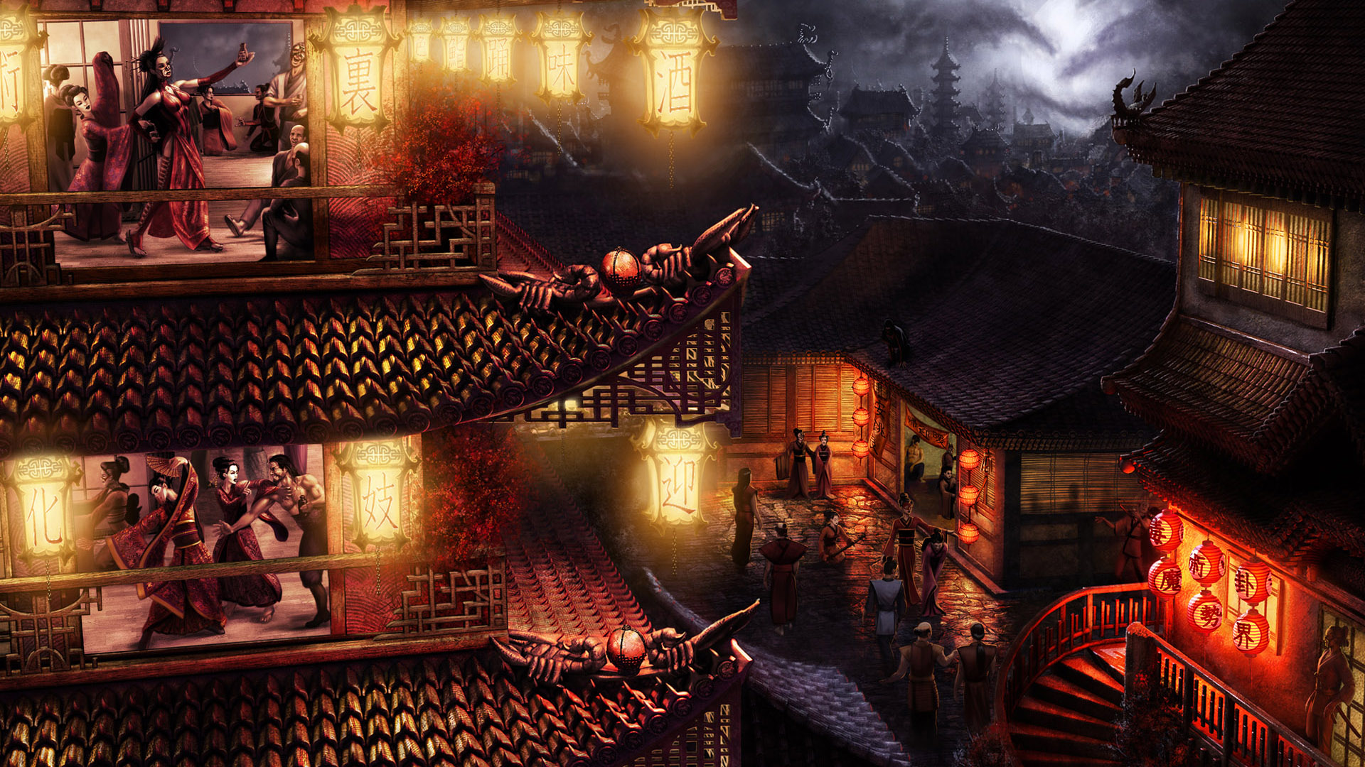 HD Wallpapers Cool Game Scenes