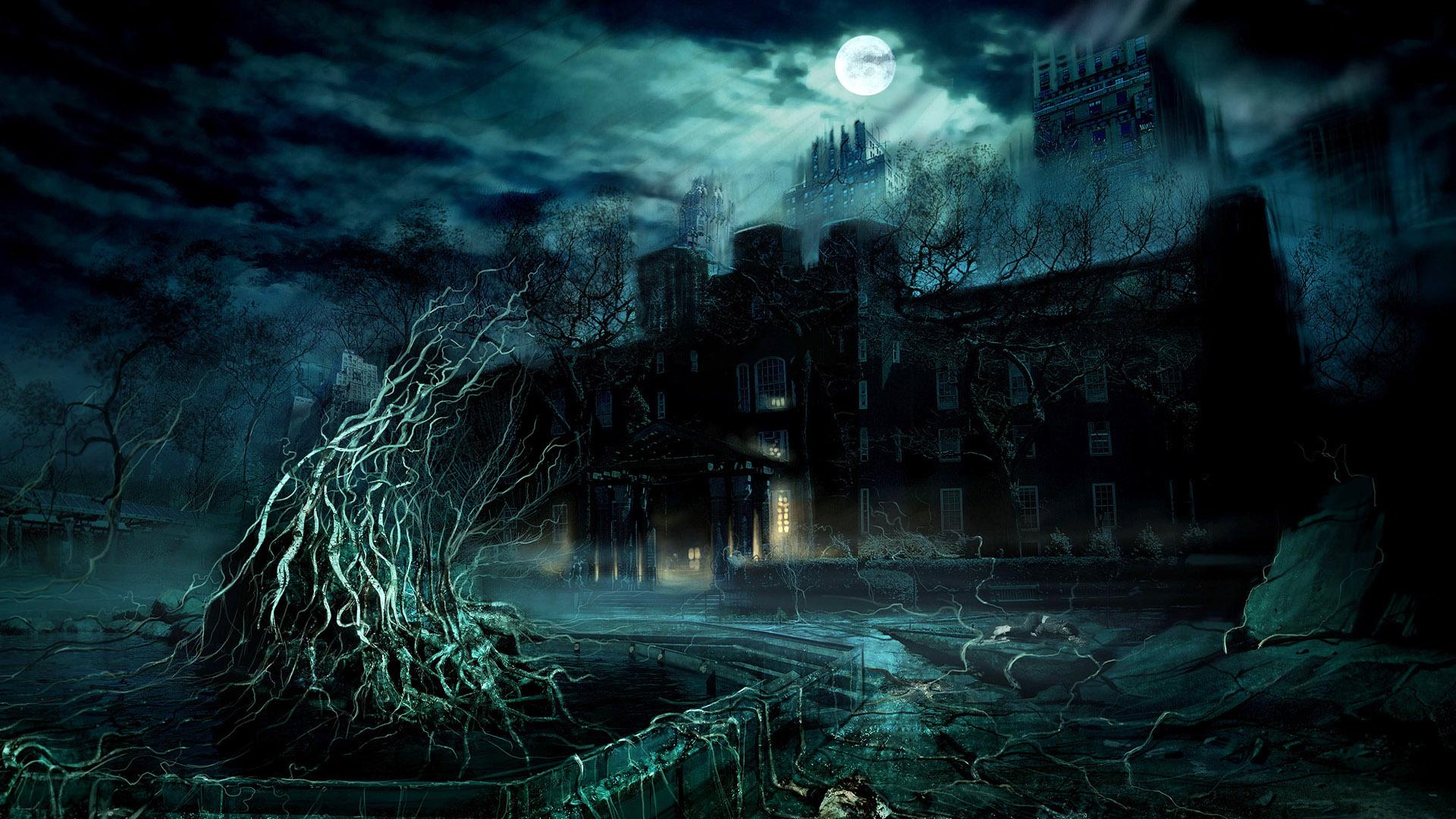 HD Wallpapers Dark Game Scene