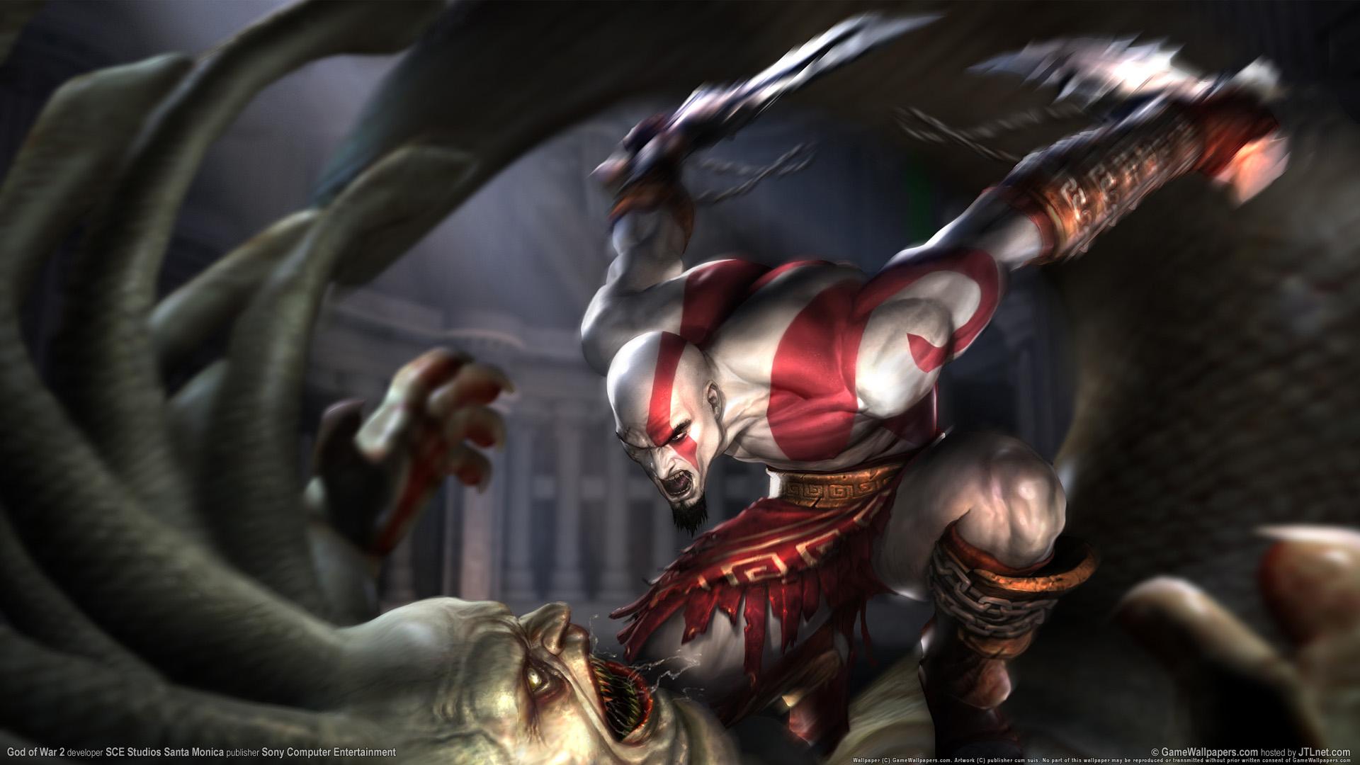 HD Wallpapers God of War 2 1080p