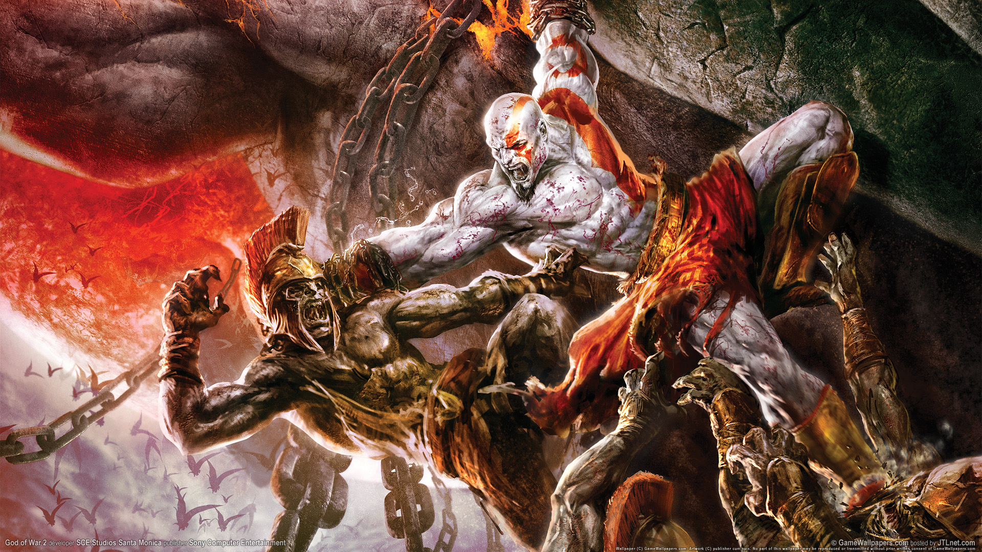 HD Wallpapers God of War 2 Game HDTV