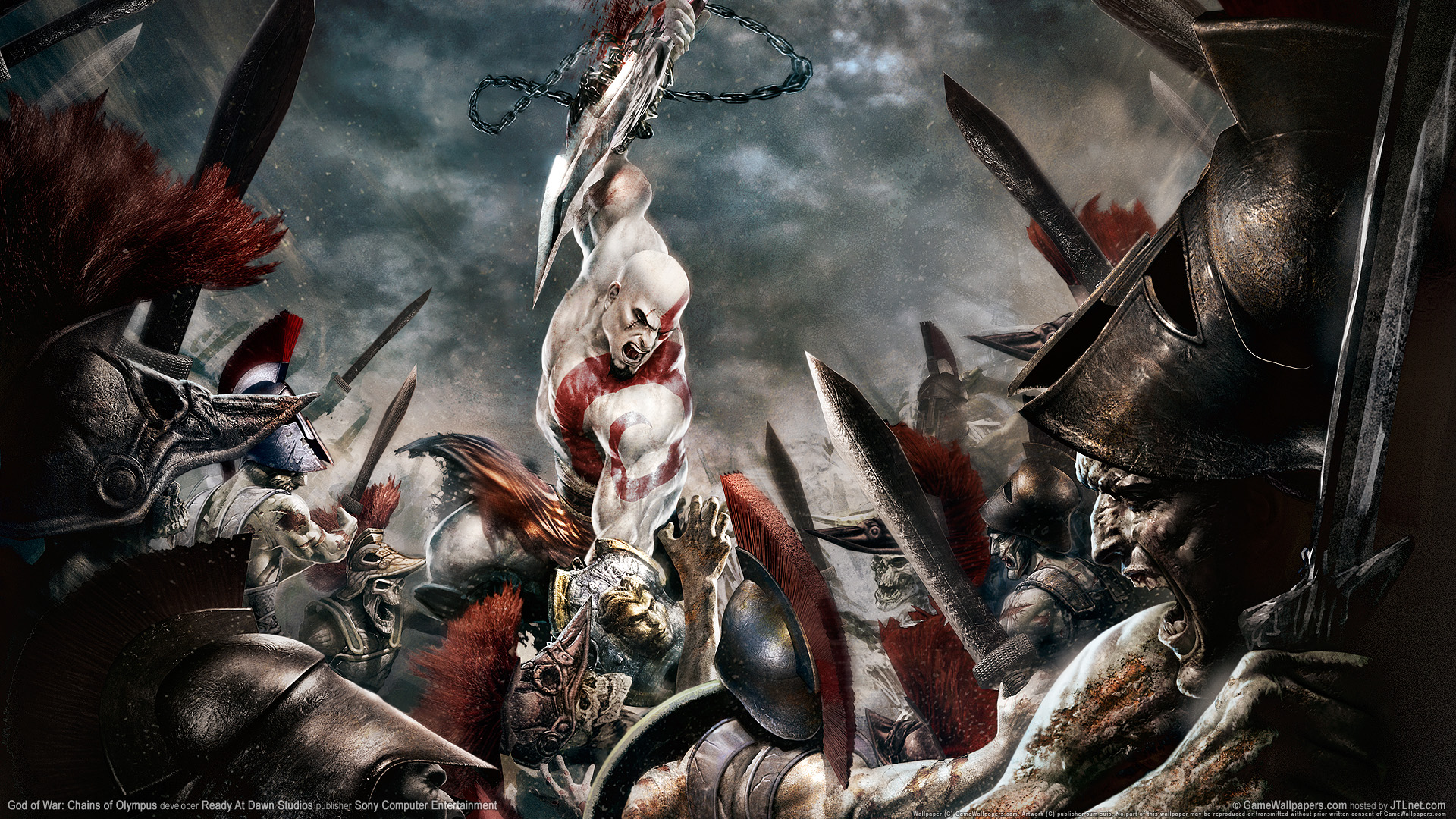 HD Wallpapers God of War 2 New Game
