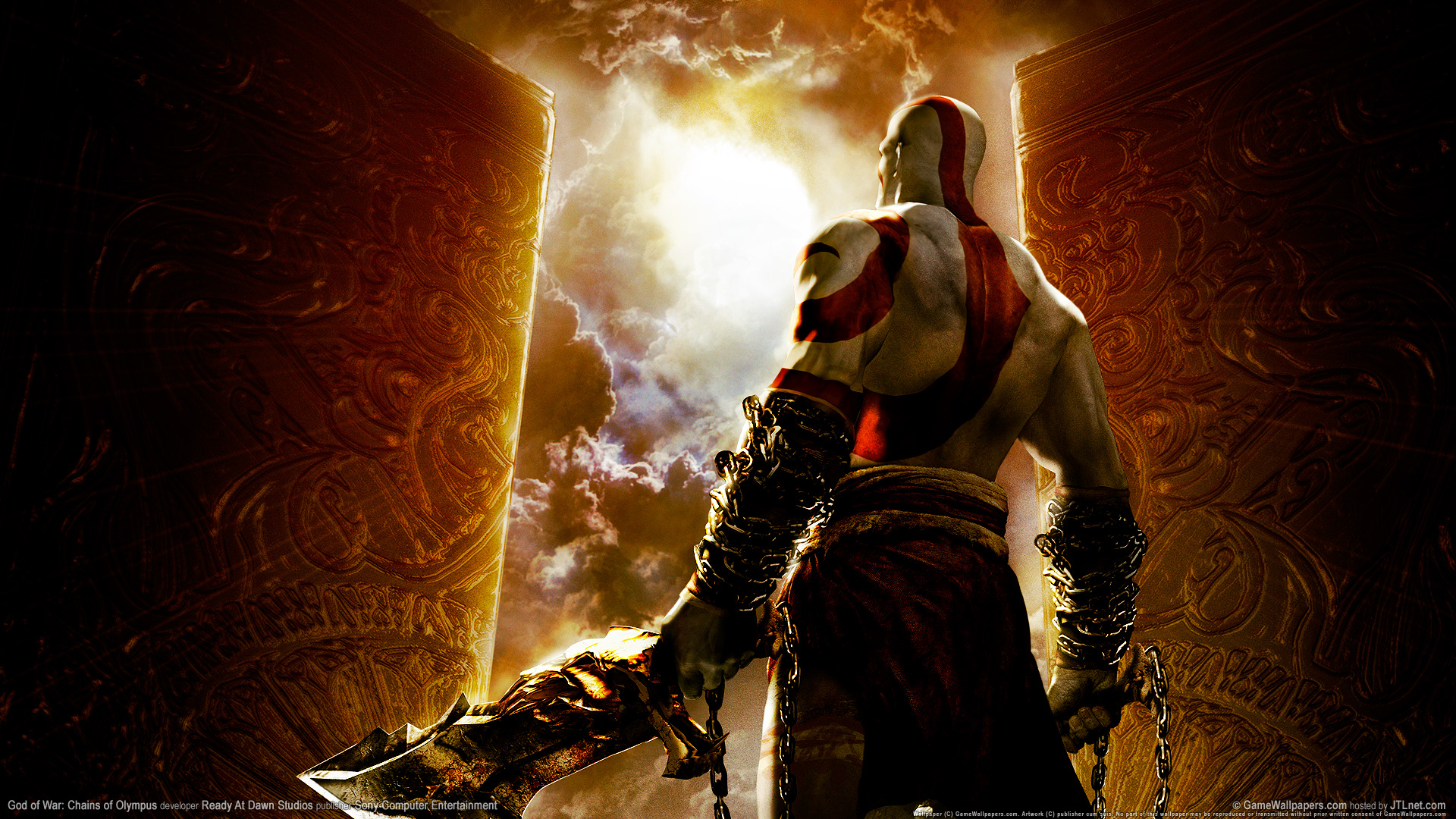HD Wallpapers God of war chains of olympus