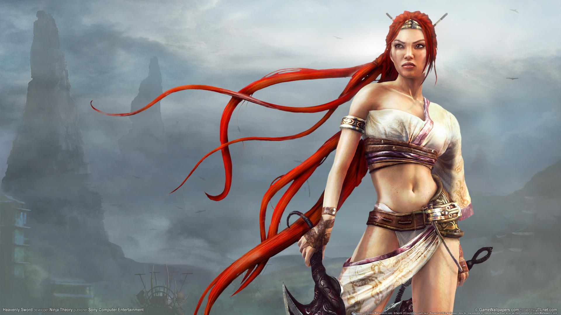 HD Wallpapers Heavenly Sword Game