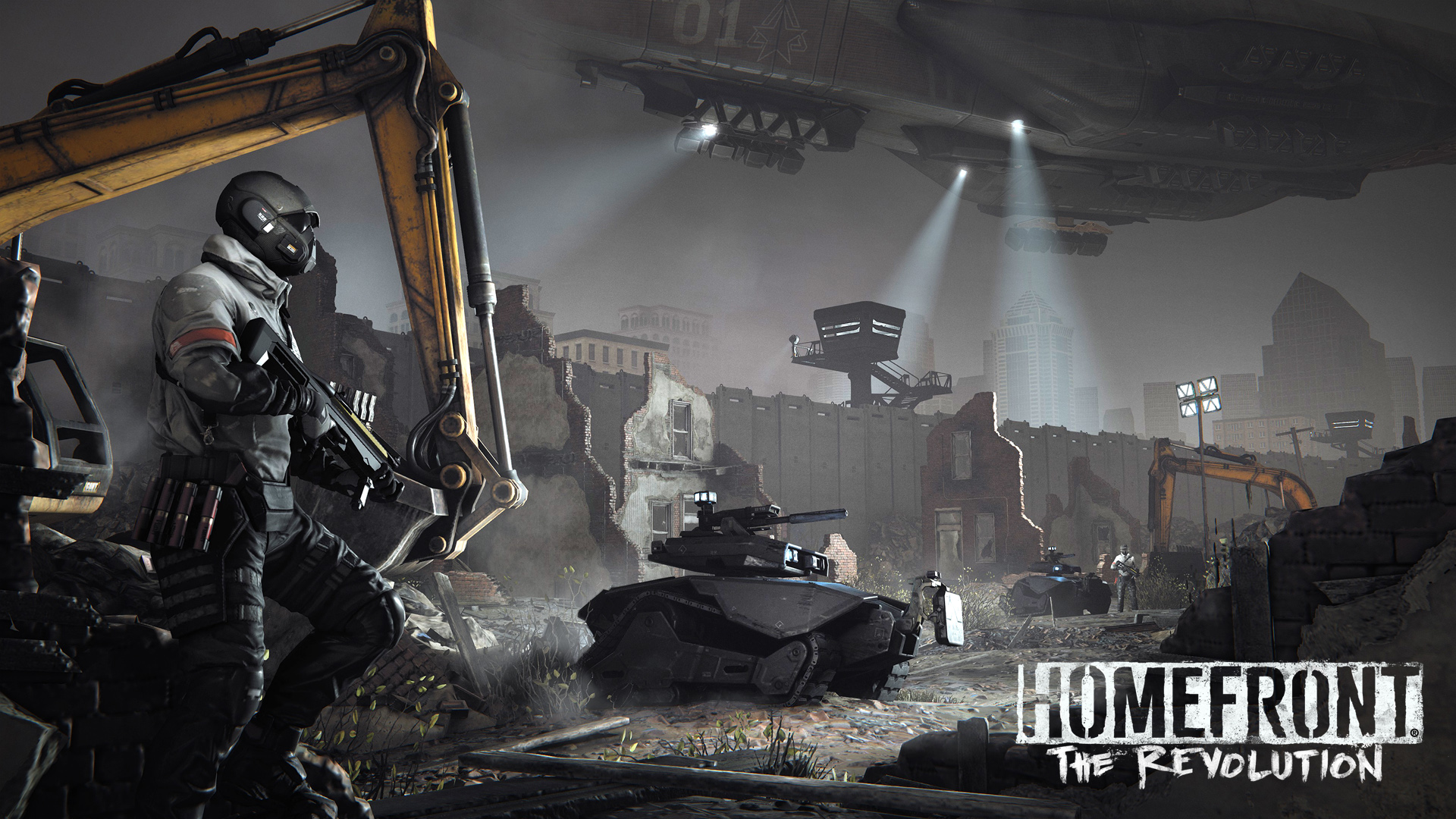 HD Wallpapers Homefront The Revolution Game
