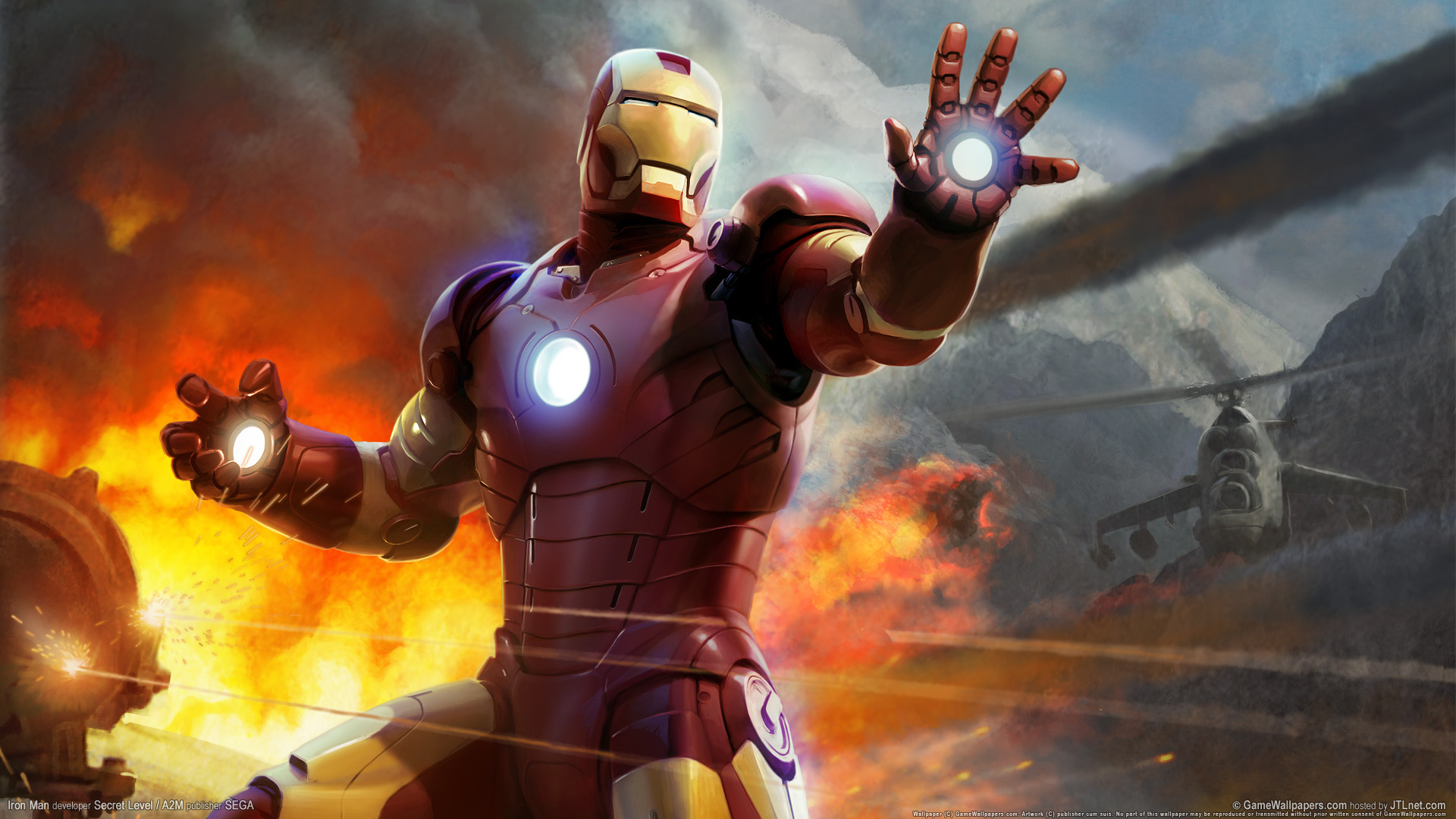 HD Wallpapers Iron Man HD Game