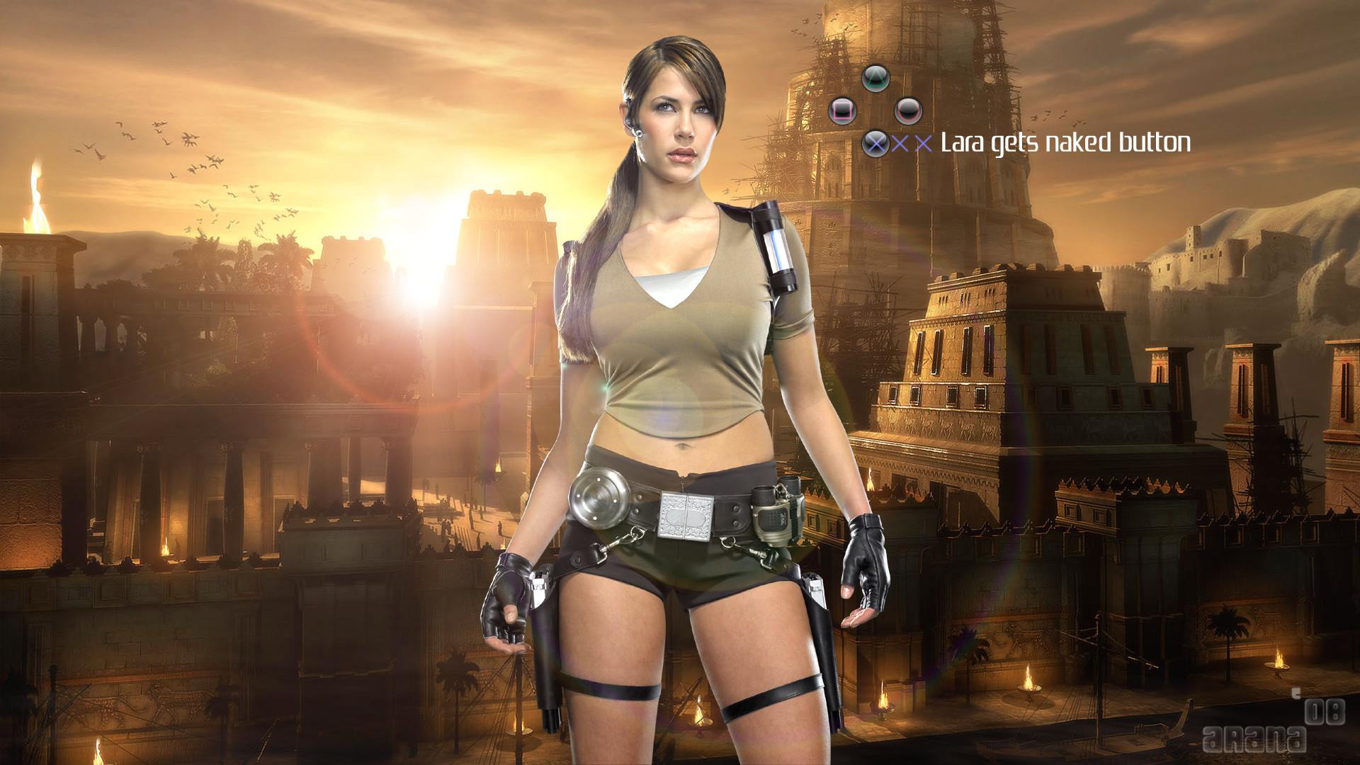 HD Wallpapers Lara Croft HDTV 1080p