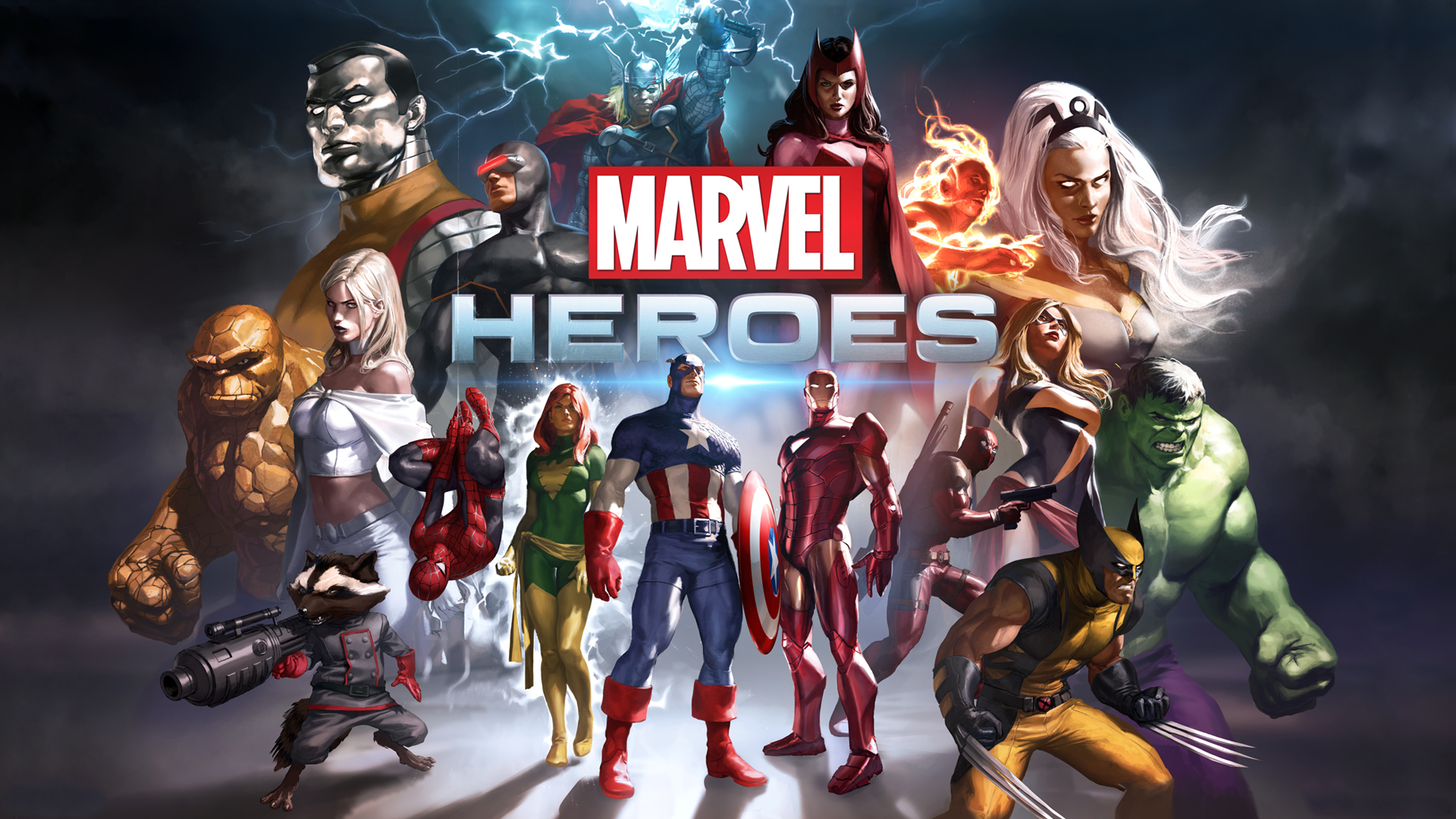 HD Wallpapers Marvel Heroes Game
