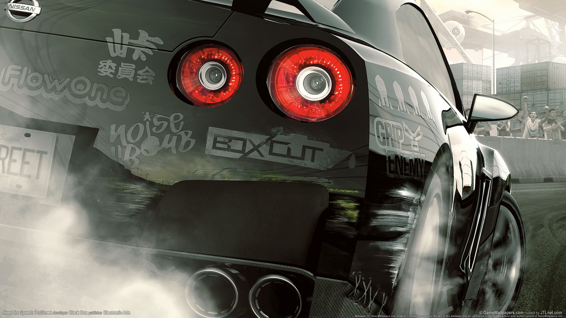 HD Wallpapers Need for speed prostreet