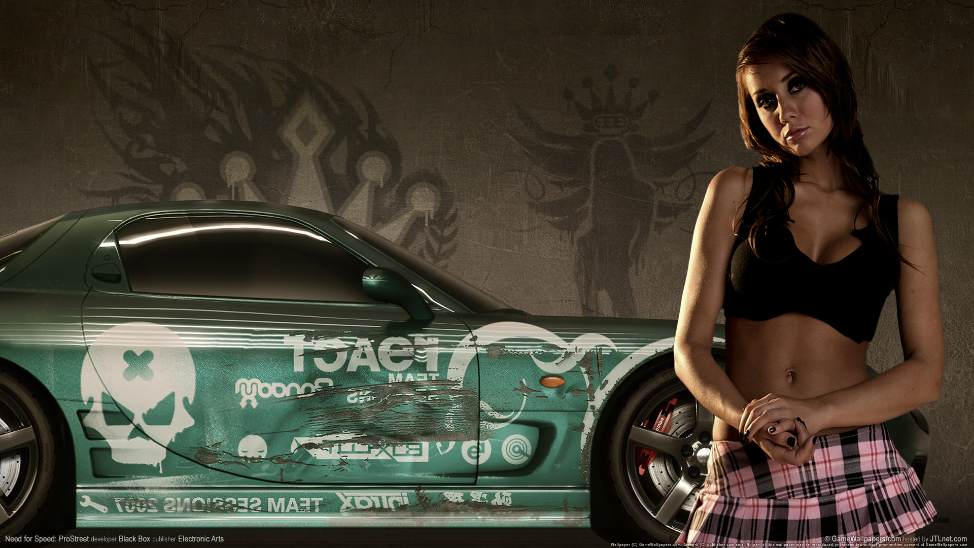 HD Wallpapers Need for speed prostreet Girls 2