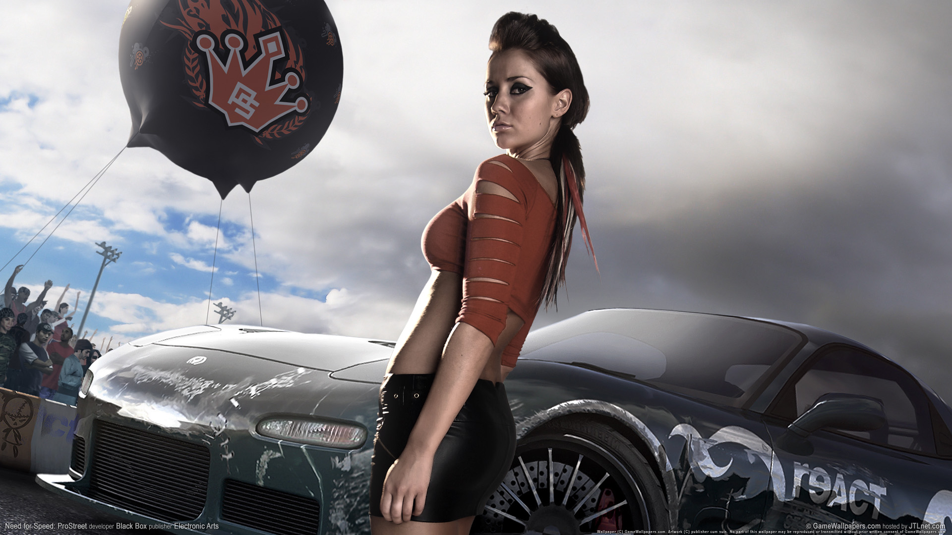HD Wallpapers Need for speed prostreet Girls 3