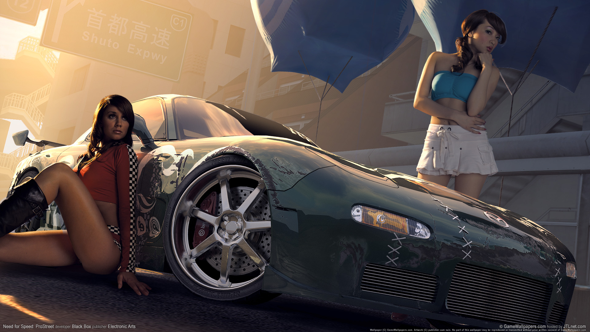 HD Wallpapers Need for speed prostreet Girls 5