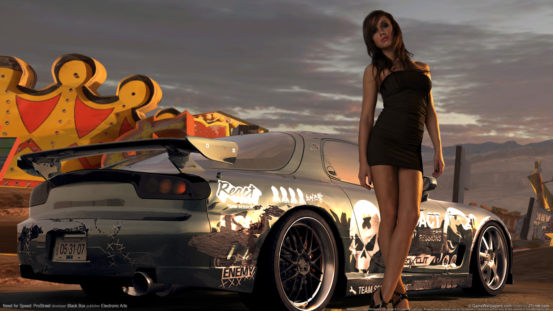 HD Wallpapers Need for speed prostreet Girls 6