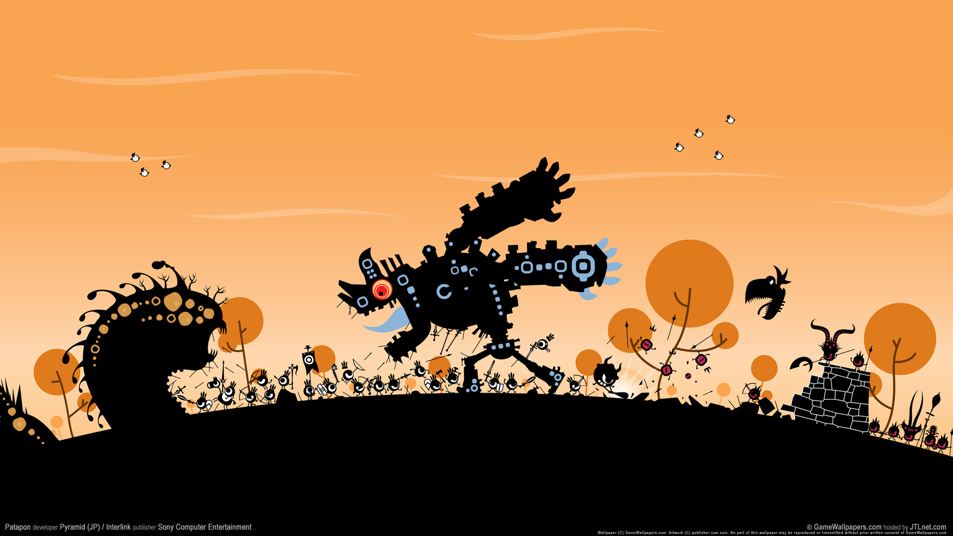 HD Wallpapers Patapon Game