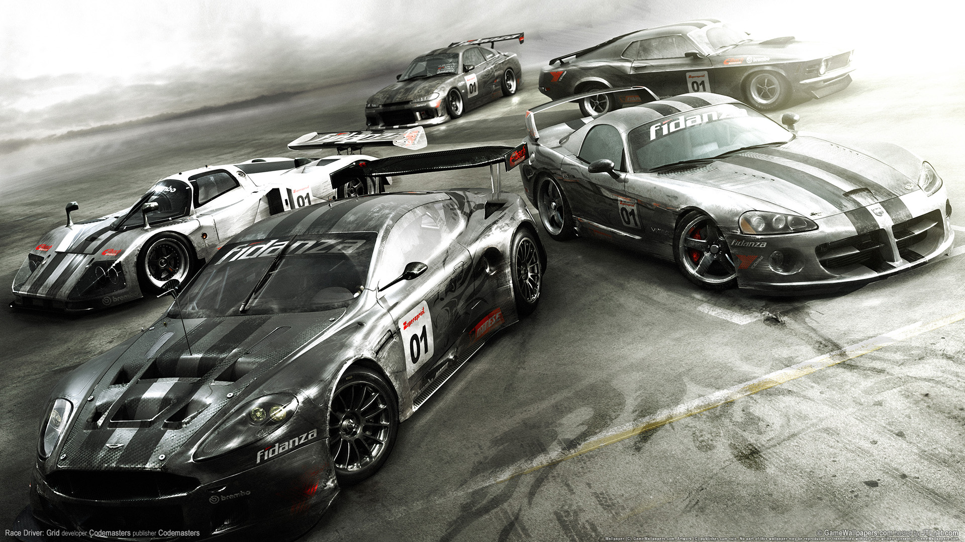 HD Wallpapers Race Driver Grid