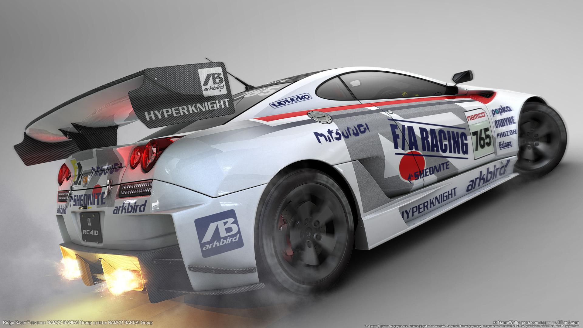 HD Wallpapers Ridge Racer Game
