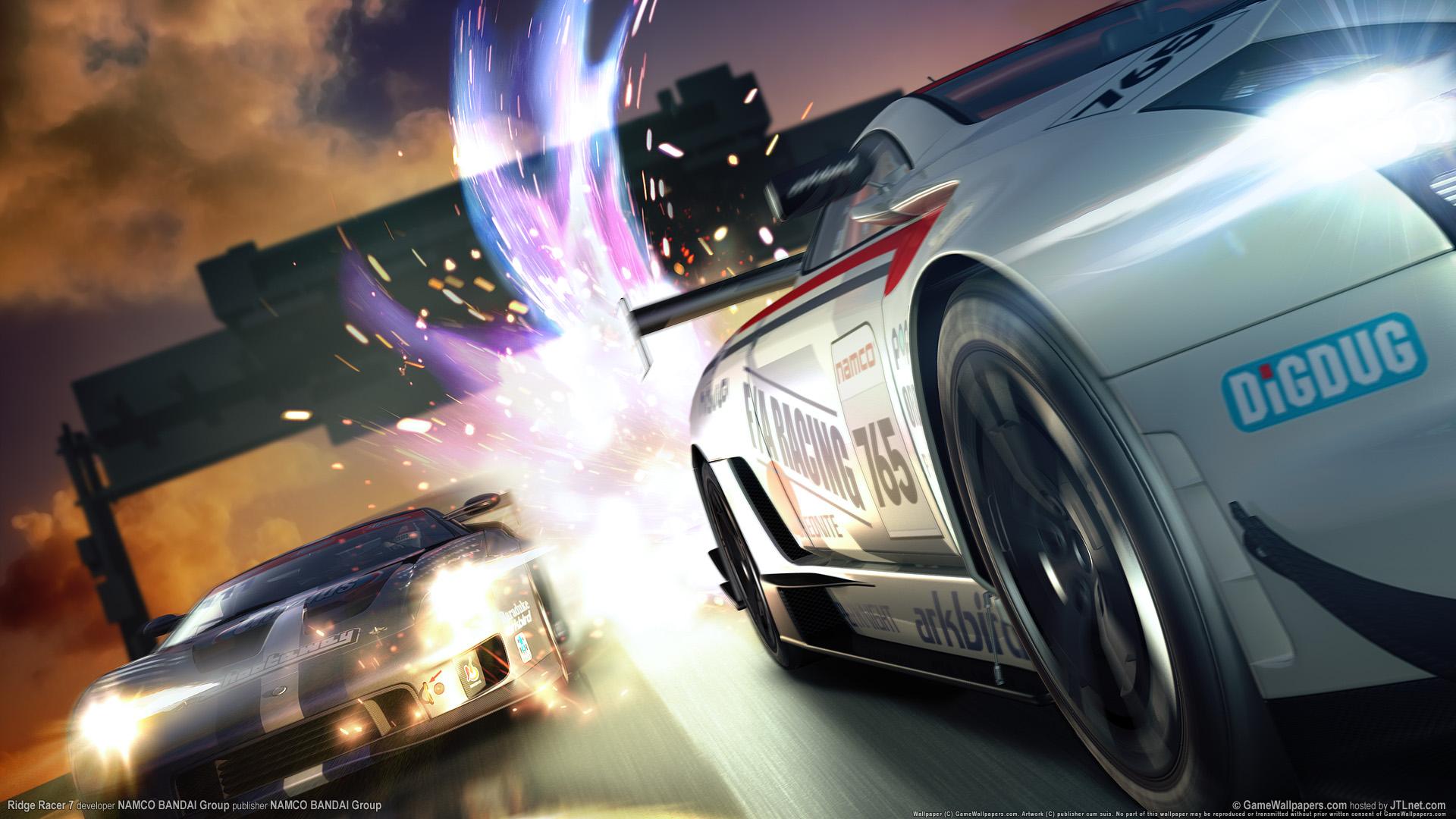 HD Wallpapers Ridge Racer Latest Game