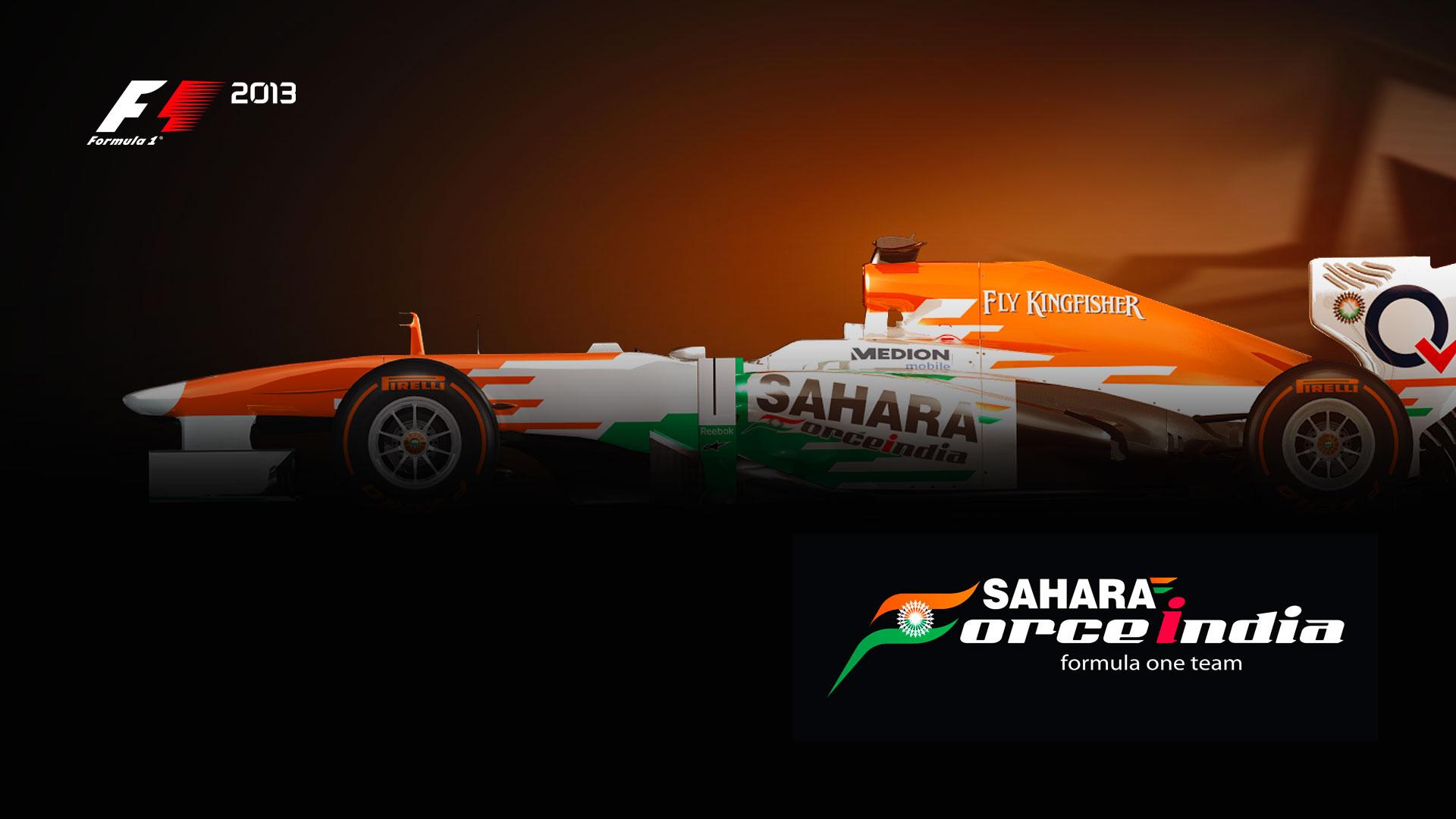 HD Wallpapers Sahara Force India F1 Team