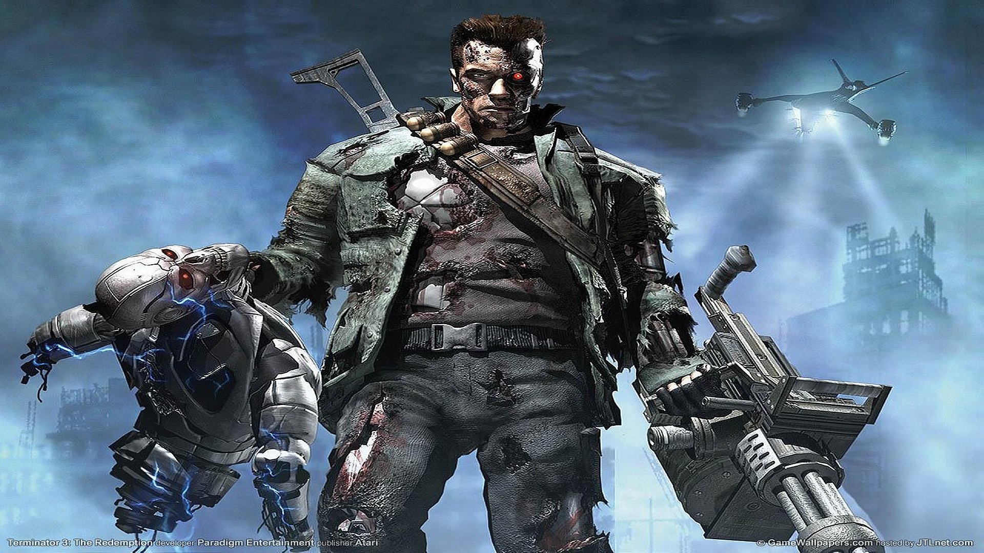 HD Wallpapers Terminator Console Game
