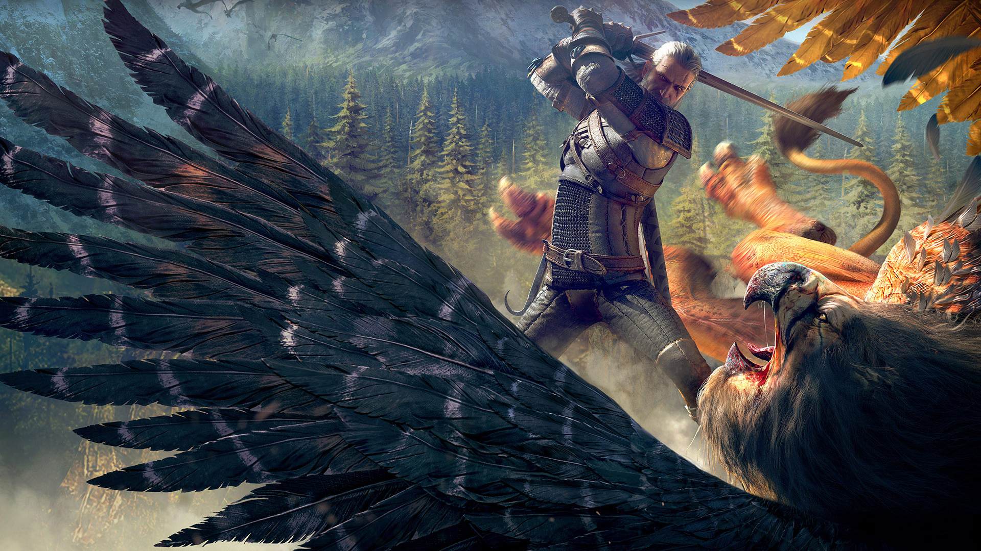 HD Wallpapers The Witcher 3 Wild Hunt Witcher Griffin