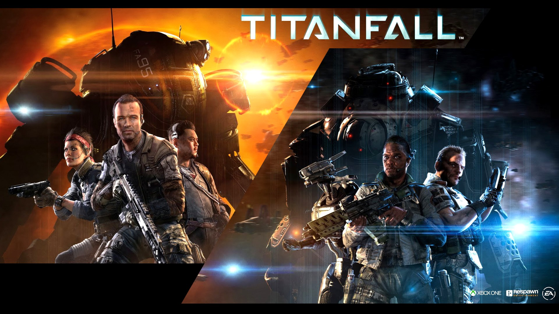 HD Wallpapers Titanfall Poster