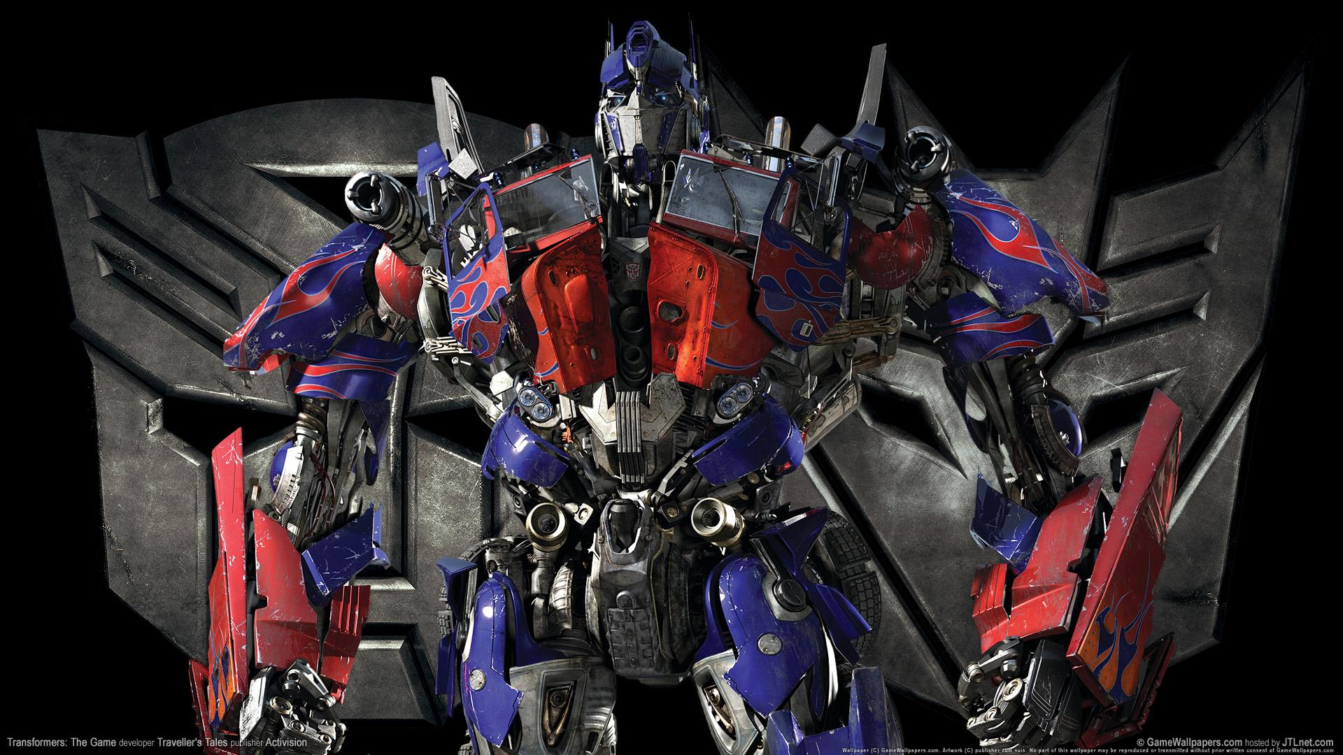 HD Wallpapers Transformers Optimus Prime Game