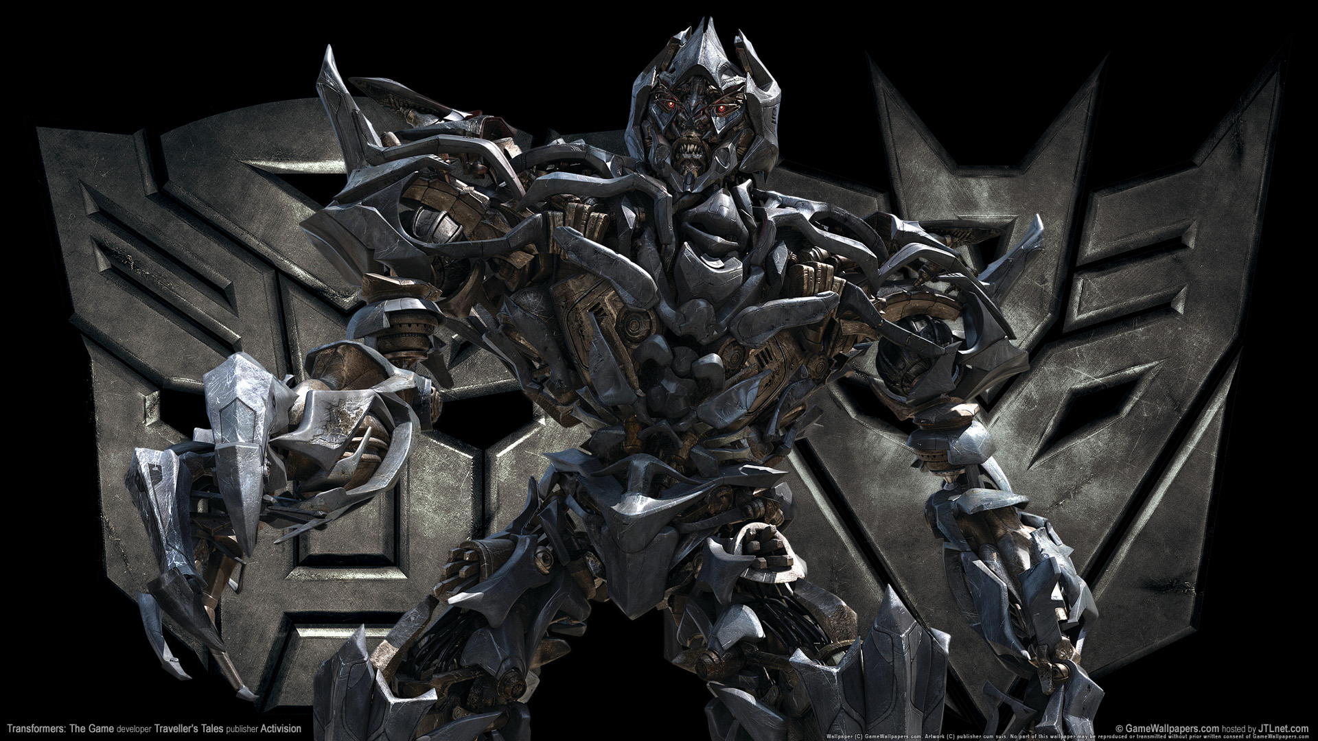HD Wallpapers Transformers The Game Megatron