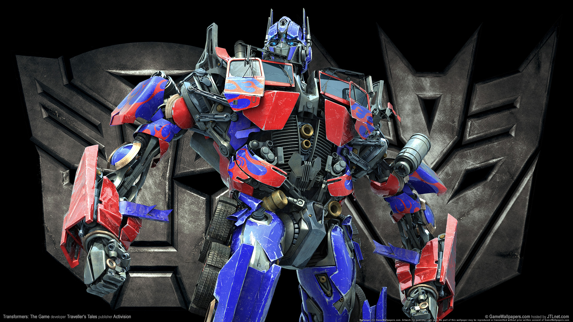 HD Wallpapers Transformers The Game Optimus