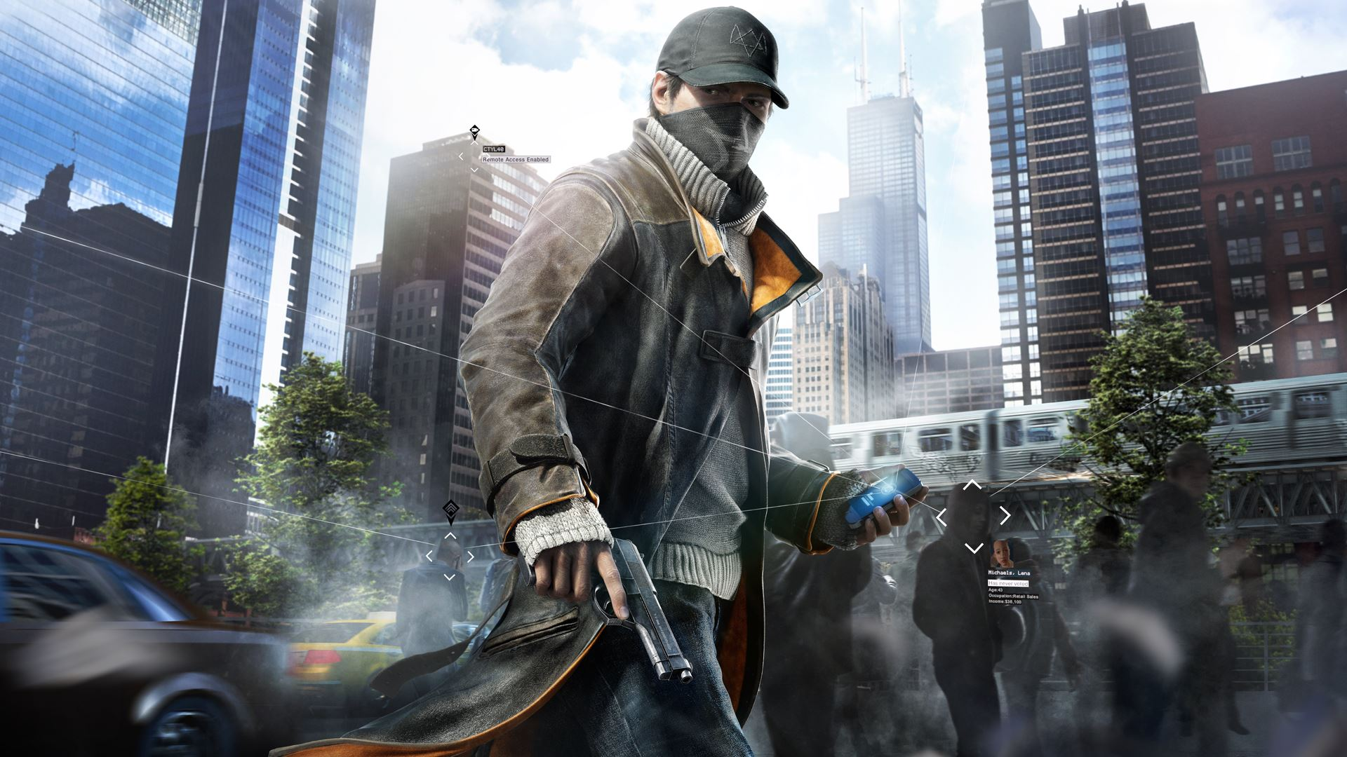 HD Wallpapers Watch Dogs Aiden Pearce