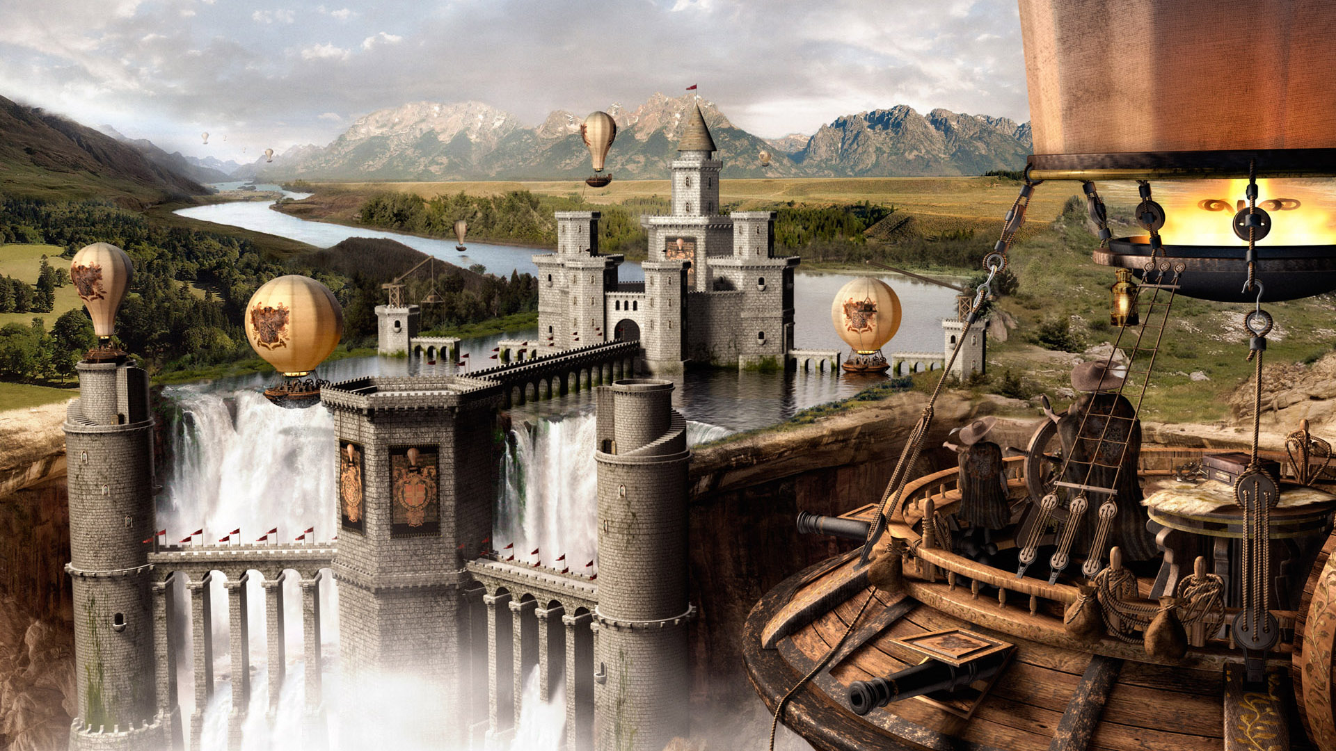 HD Wallpapers Wonderl Game Scene