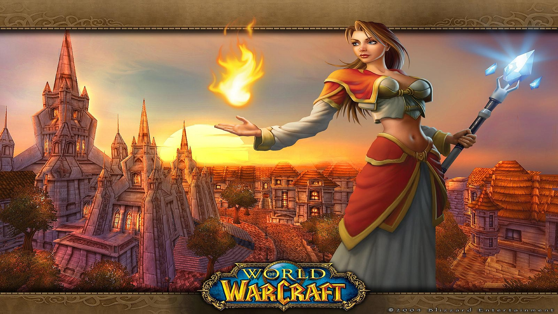 HD Wallpapers World of Warcraft Girl
