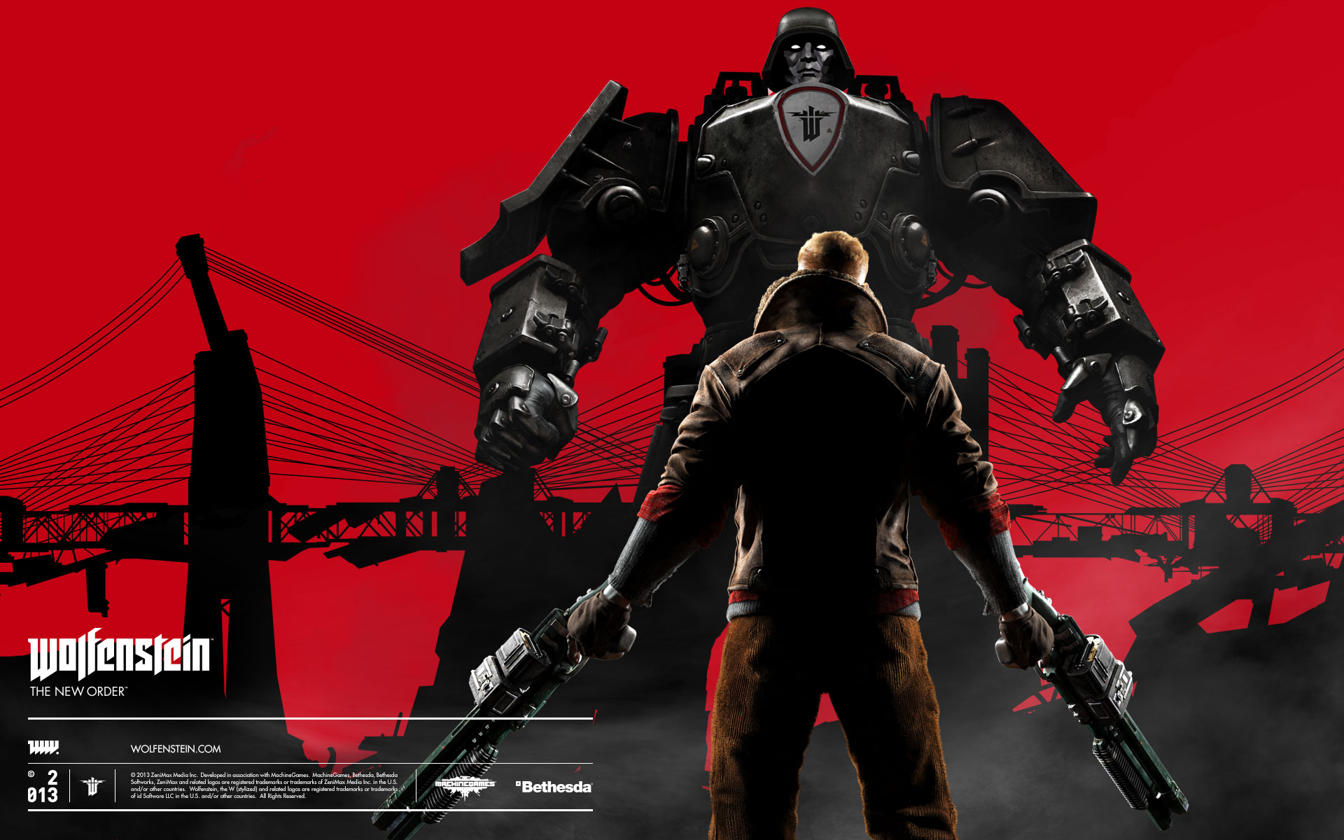 HD Wallpapers 2014 Wolfenstein The New Order
