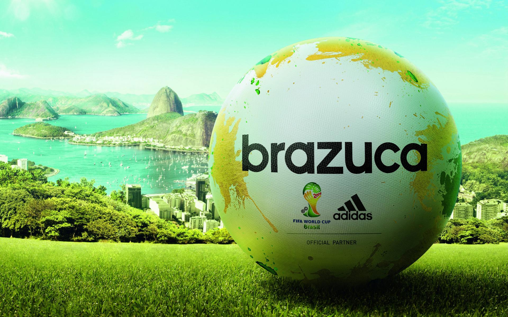 HD Wallpapers Adidas Brazuca Match Ball FIFA World Cup 2014