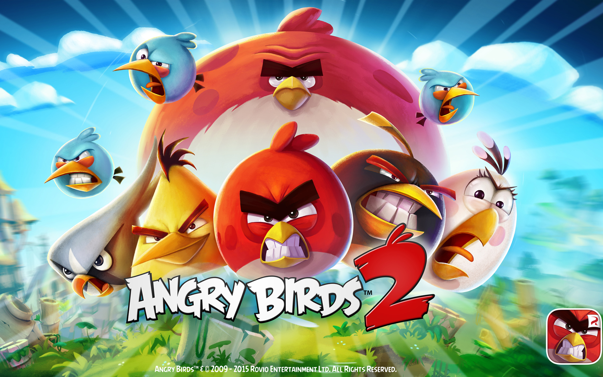 HD Wallpapers Angry Birds 2