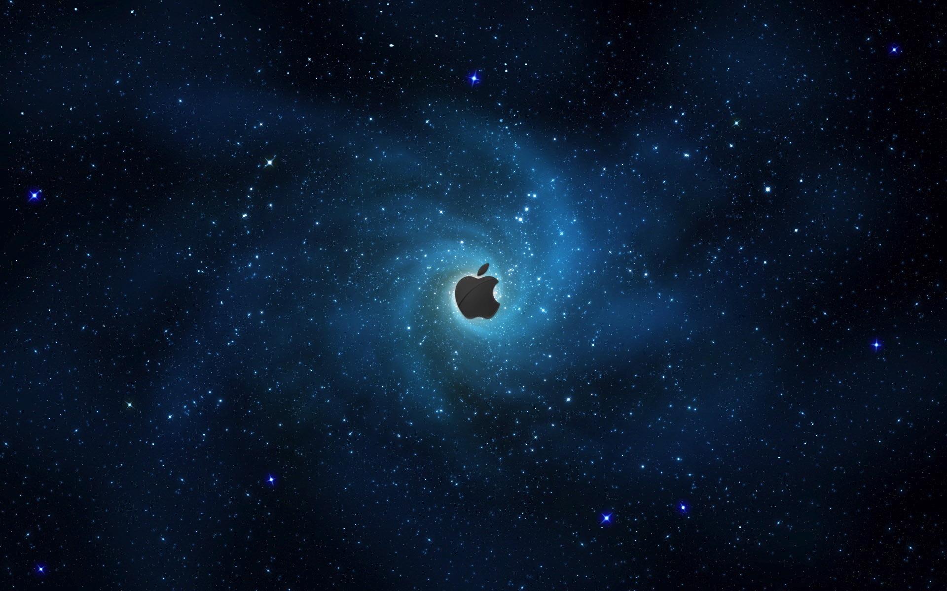 HD Wallpapers Apple in Stars