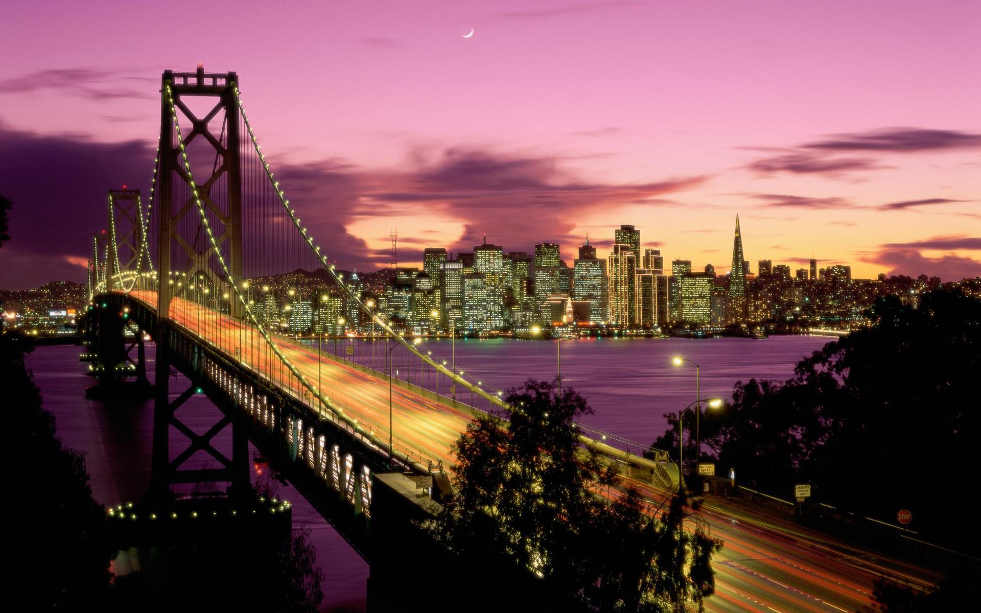 HD Wallpapers Bay Bridge San Francisco