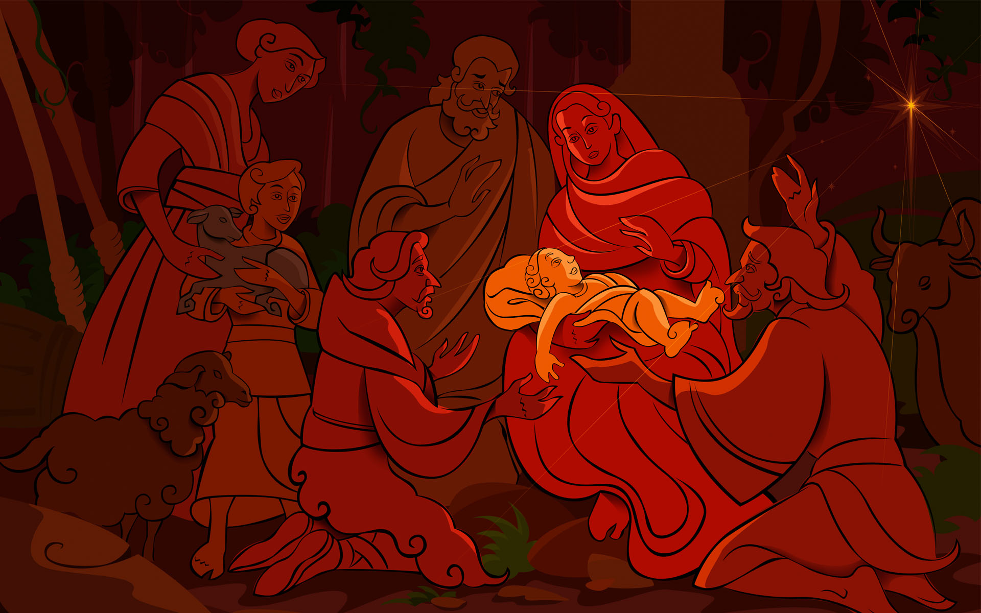 HD Wallpapers Birth of Christ Celebrations