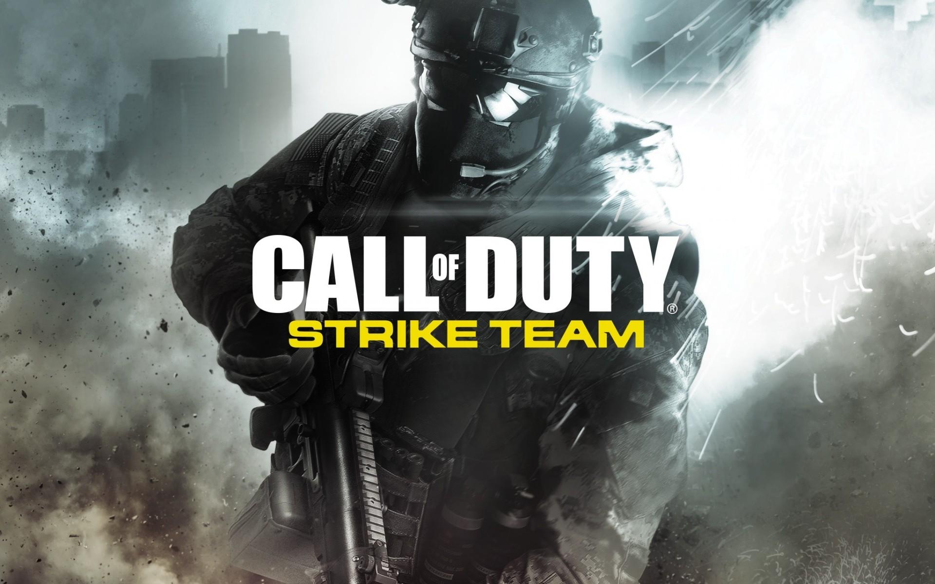 HD Wallpapers Call of Duty Strike Team