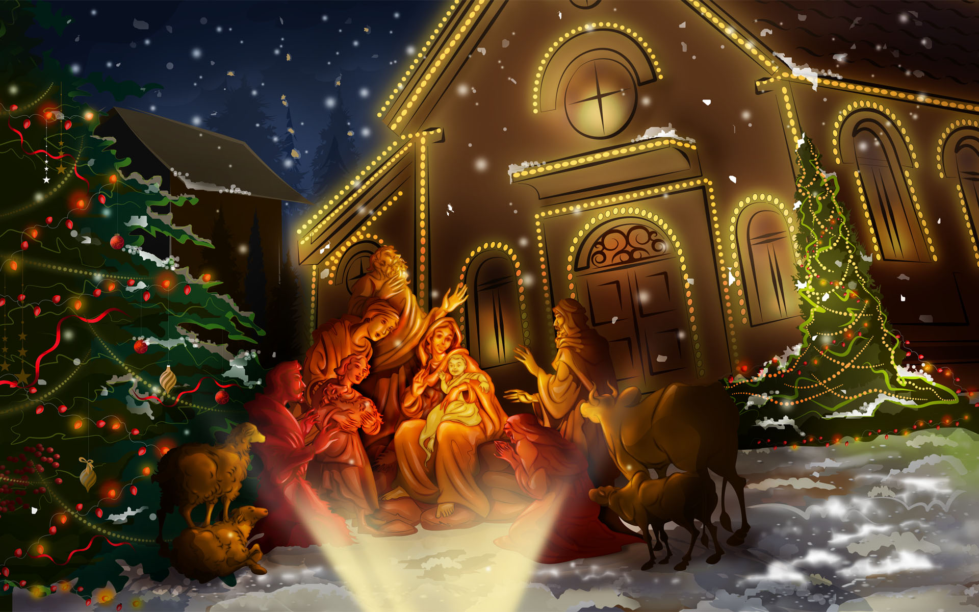 HD Wallpapers Celebrating Jesus Birth