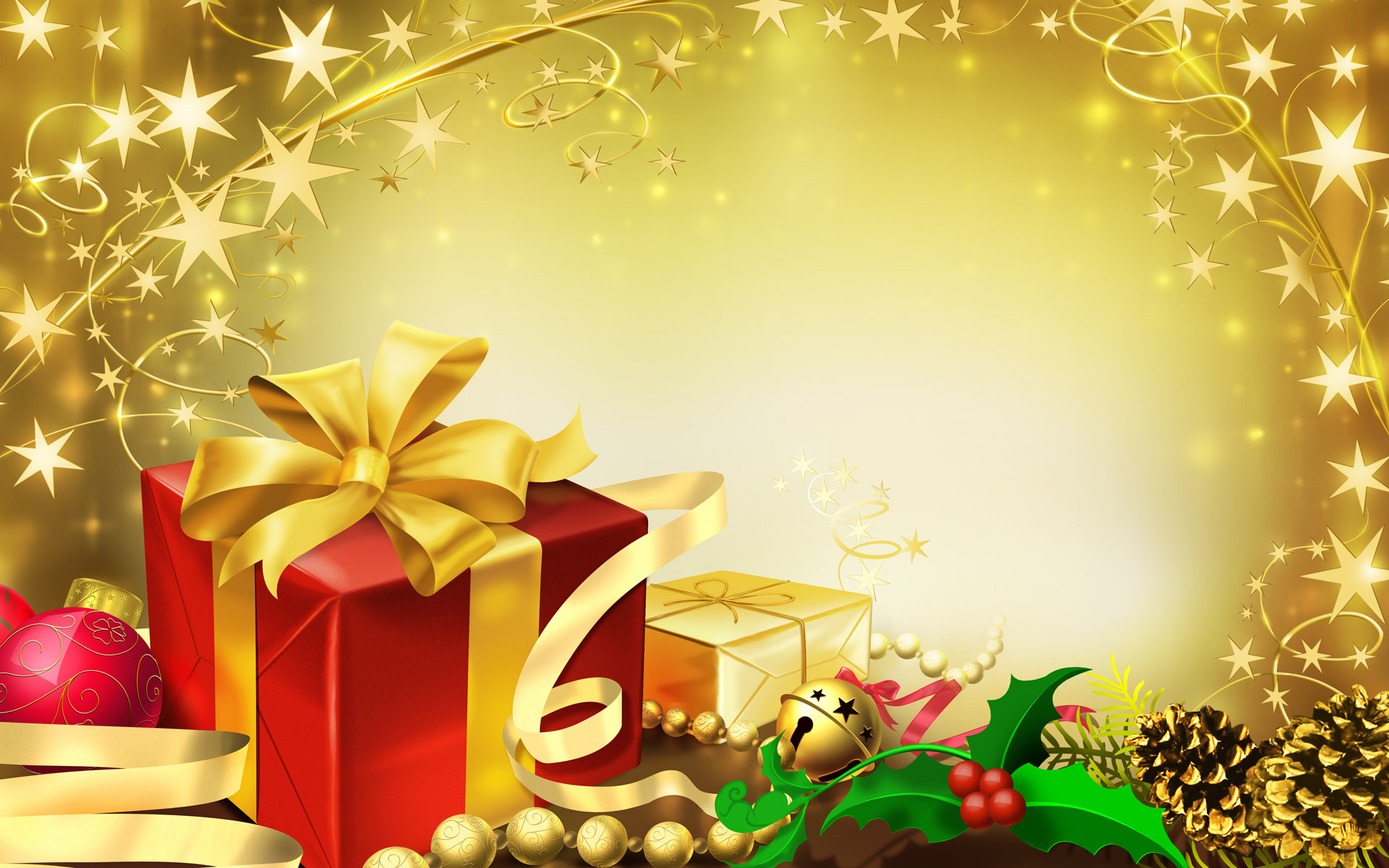 HD Wallpapers Colorful Gifts for Christmas